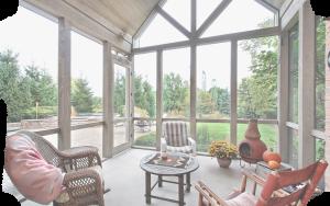 Porch Screen Plain Frame