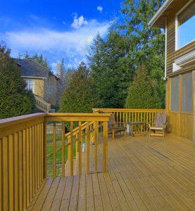 wood patio flooring