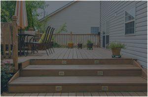 Deck Builder Wood Stair